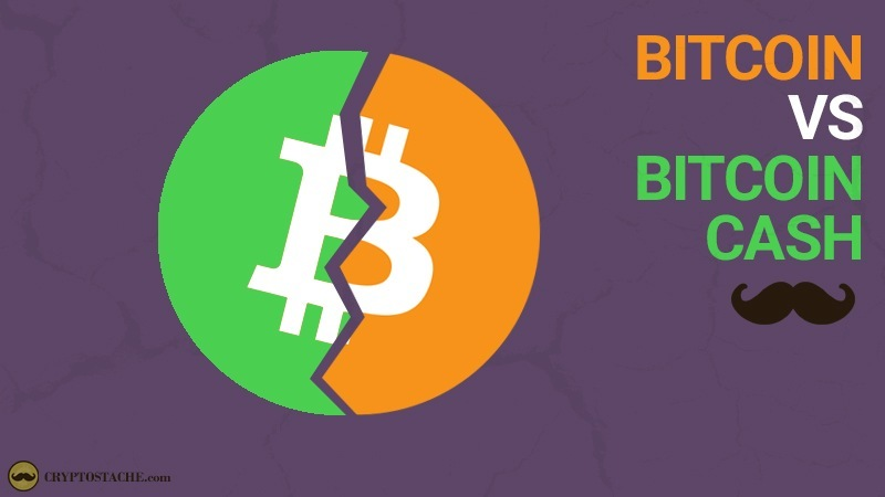 bitcoin cash (BCH) vs bitcion (BTC)