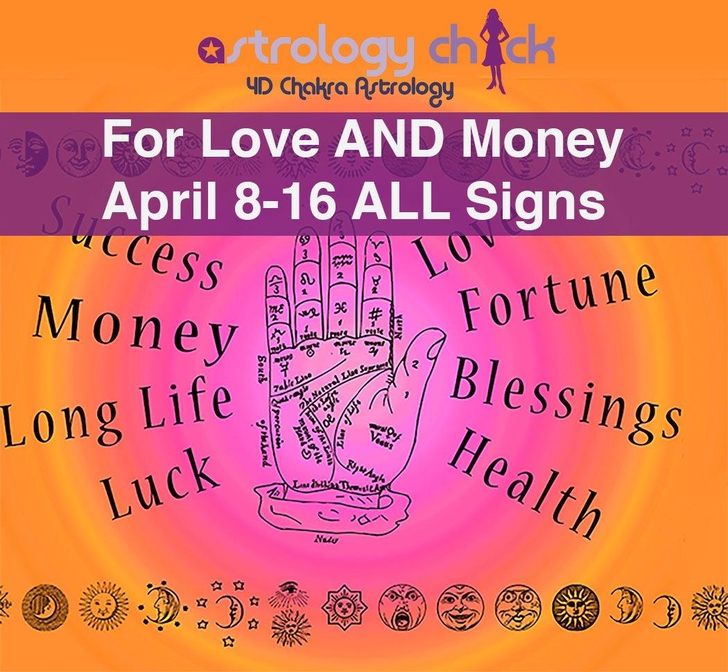 , Love AND Money Horoscope 4/9-15 ALL Signs, Aura Wright Media