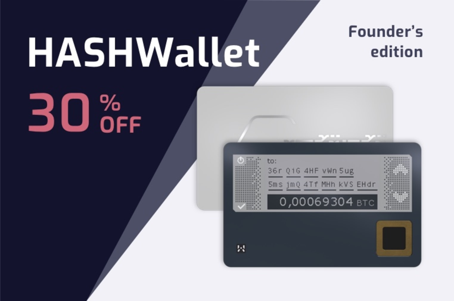 ACT FAST!! Hardware Wallet that I LIKE!!
