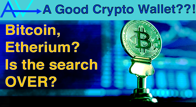 A GOOD Crypto Wallet??! Bitcoin, Etherium<br><span style='color:#00adee;font-size:.8em'>A GOOD Crypto Wallet</span>