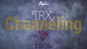 TRX – New Coin Channeling<br><span style='color:#00adee;font-size:.8em'>Tron, TRX and recommendations</span>