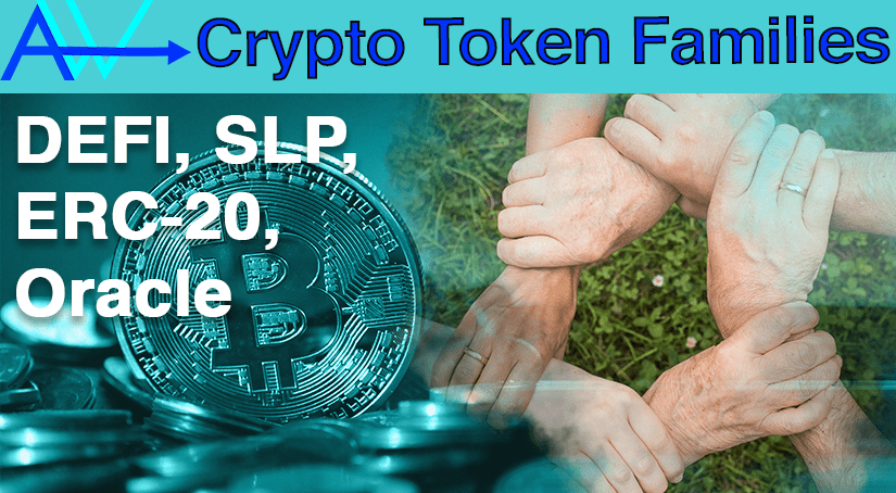 What are Token Families? SLP ERC 20 DEFI<br><span style='color:#00adee;font-size:.8em'>Token Families</span>