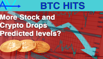 More Stock and Crypto Drops – predicted levels?Stock and crypto drop predictions