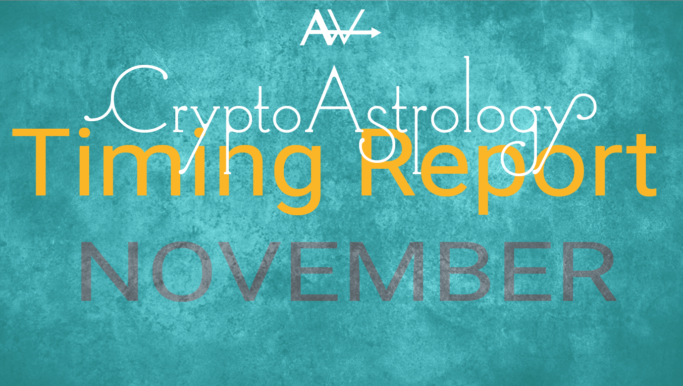 UPDATE : November CryptoAstrology Timing Report<br><span style='color:#00adee;font-size:.8em'>BTC is Hitting My Targets Right on Time...</span>