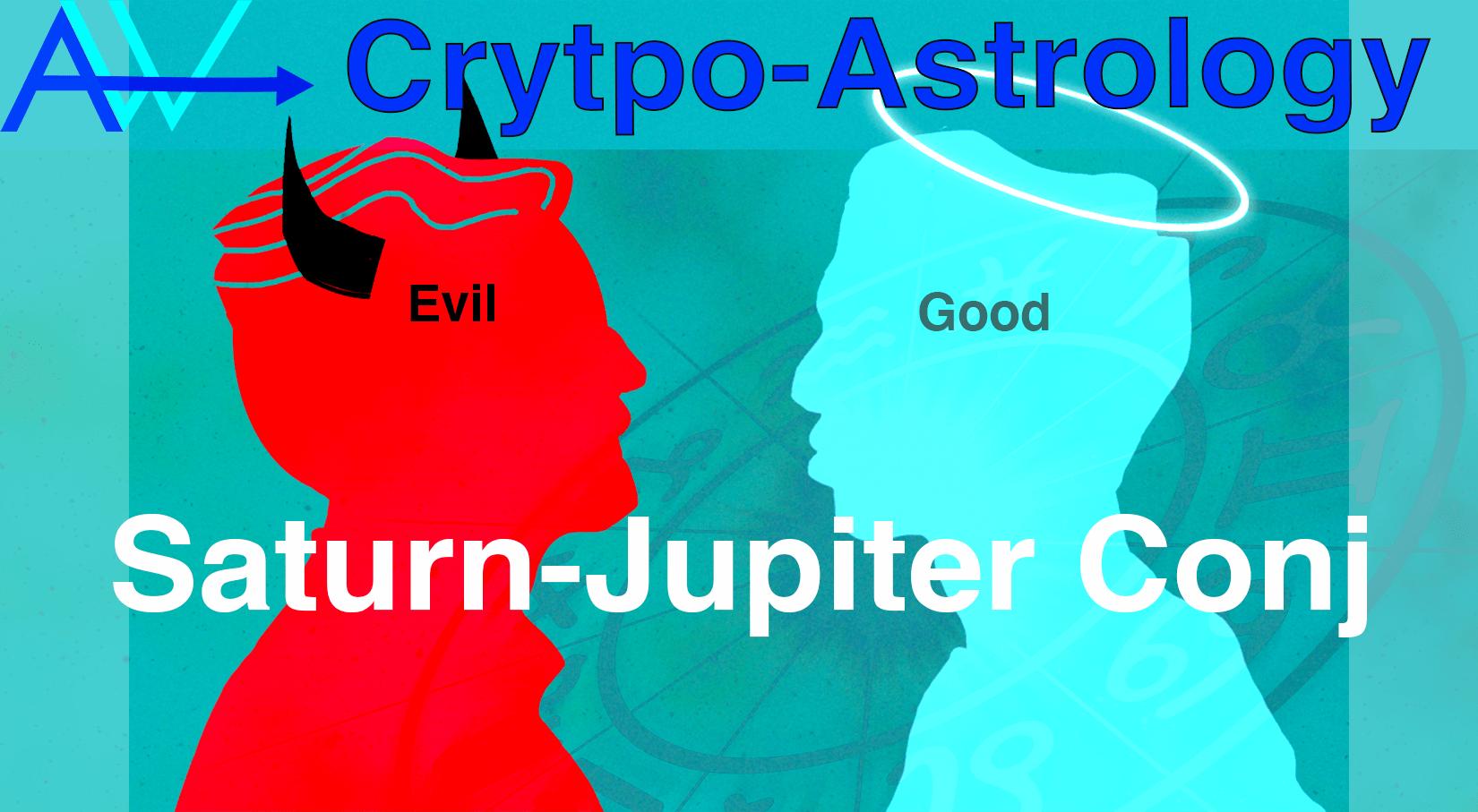 You are currently viewing Good v Evil – Saturn Jupiter Conjunction<br><span style='color:#00adee;font-size:.8em'>Good Vs Evil </span>