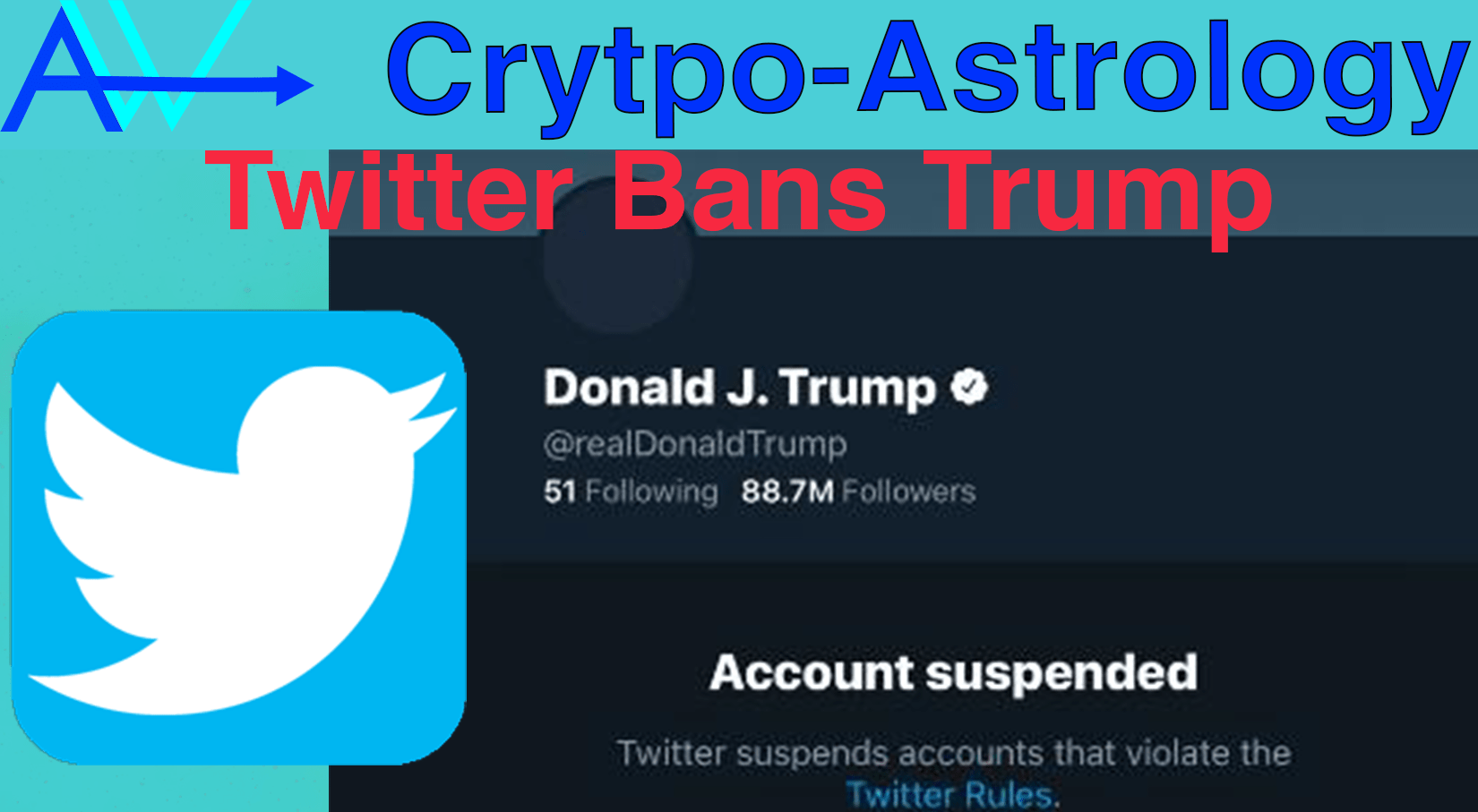 You are currently viewing Trumps Twitter De-platformed<br><span style='color:#00adee;font-size:.8em'>Trumps Twitter De-platformed </span>
