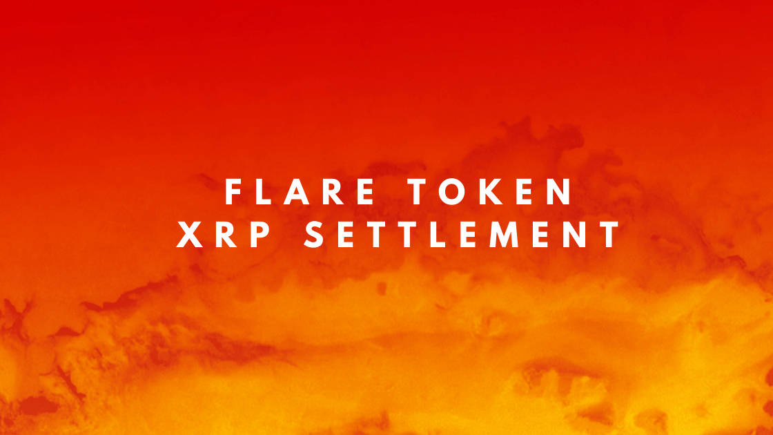 FLARE TOKEN – SEC Settlement on XRP<br><span style='color:#00adee;font-size:.8em'>Flare Token; The XRP-SEC lawsuit will get settled - what about the airdrop Flare token?</span>